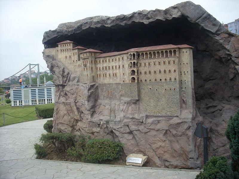 Sümele Manastırı maketi - Miniatürk