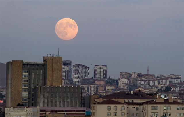 Süper Ay  Gerçekleşti