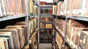 Vahid Paşa Kütüphanesi'ndeki el yazma deposu