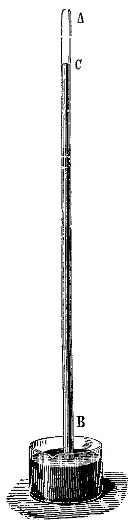 Torricelli'nin civalı barometresi