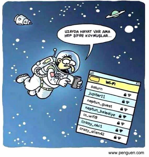 Uzayda Hayat Var