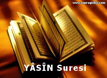 YÂSÎN Suresi Latin Harfli Okunuşu ve Türkçe Meali