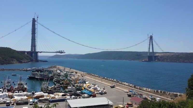 Yavuz Sultan Selim Köprüsü - Temmuz 2015